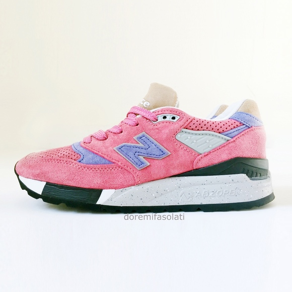 new balance 998 pink
